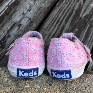 Keds Shoes - Keds Little Girl Pink T-Strap Sneakers